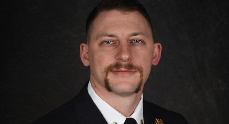 Spencer, North Carolina Fire Chief Michael Lanning