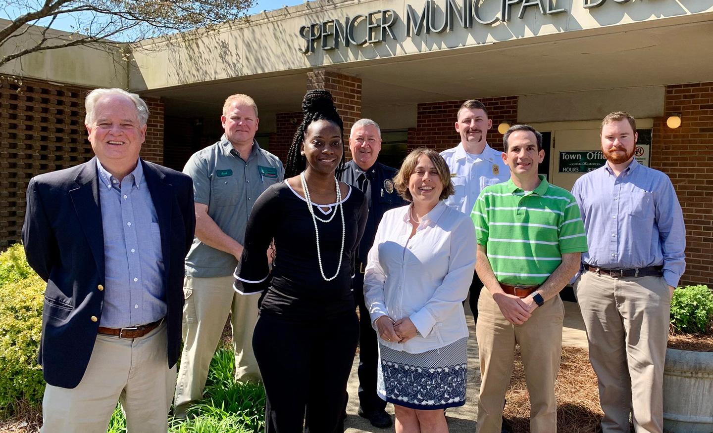 Spencer, North Carolina Town Hall staff