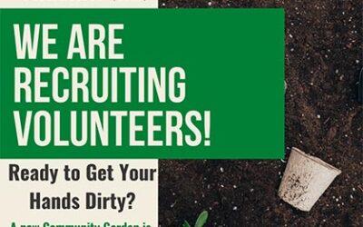 Seeking Volunteers – Community Service Garden Interest Survey – Now Available!